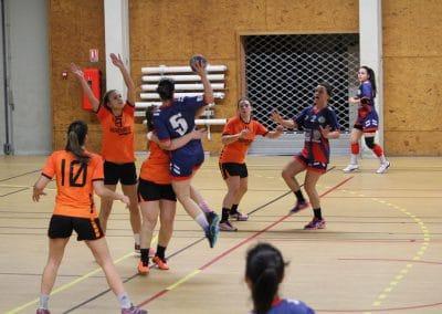 saint girons handball club equipe senior filles