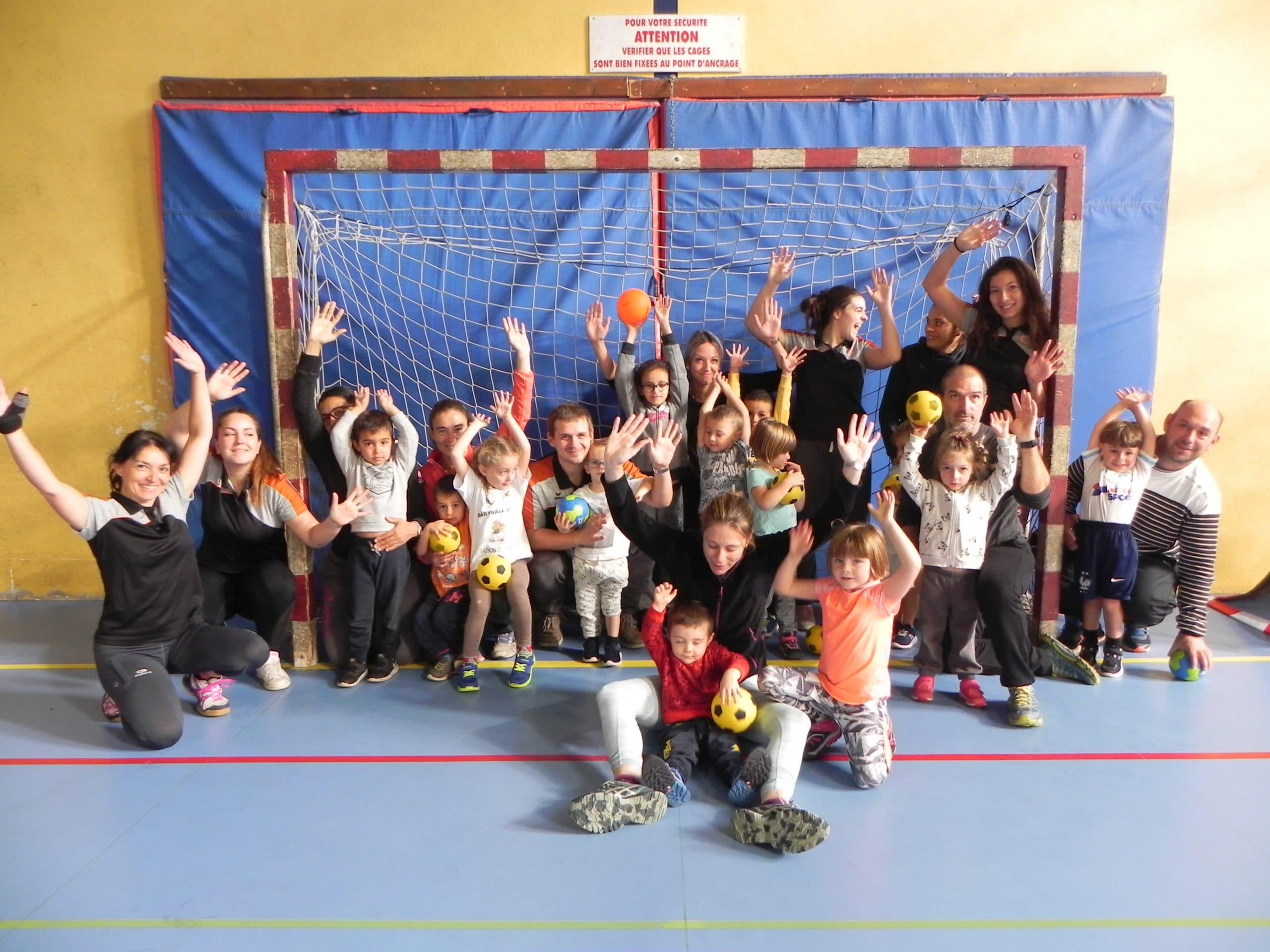 saint girons handball club babyhand