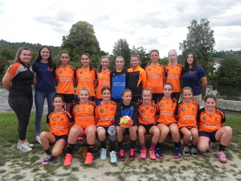 Saint girons handball club U15f