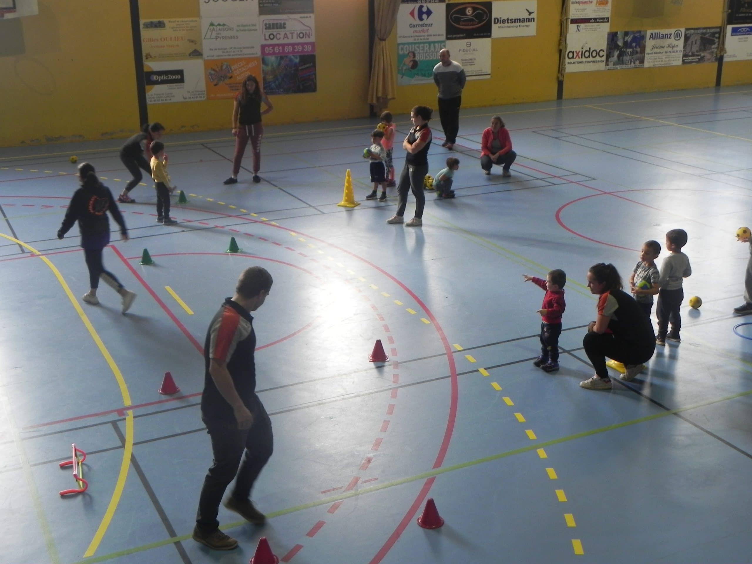 Les jeunes handballeurs Couserannais ont hâte de retrouver les terrains