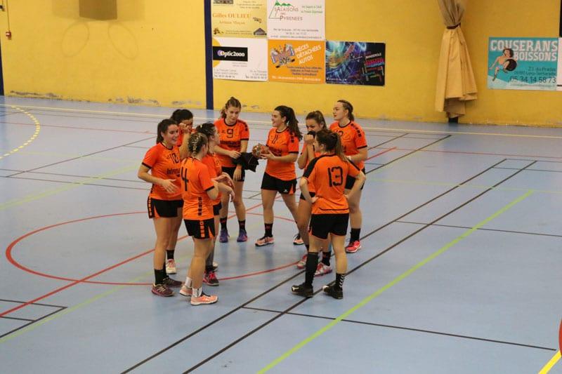 SGHBC. Nationale 3 Féminine. Les Couserannaises retrouvent le plus haut niveau régional.