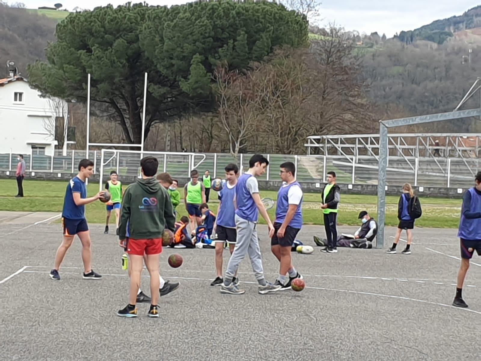 COVID reprise handball exterieur mars 2021